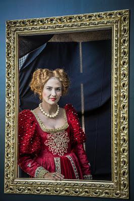 Elisabeth nel quadro di Podista