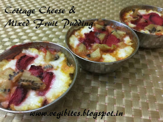 Brilliant Cottage Cheese And Mixed Fruit Pudding Home Interior And Landscaping Eliaenasavecom