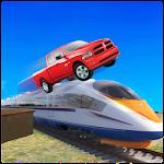 Train Games vs Crazy Prado Racing Icon