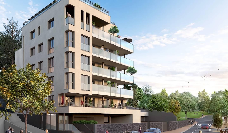 Appartement contemporain avec terrasse Evian-les-Bains