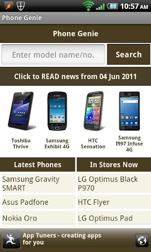 Phone Genie screenshot 1
