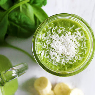 Green Coconut Smoothie.