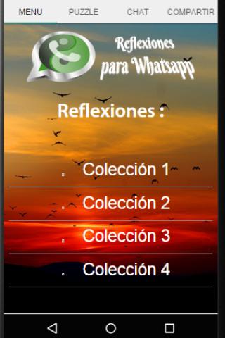 Reflexiones para Whatsapp