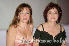 Lucy Artian on the left