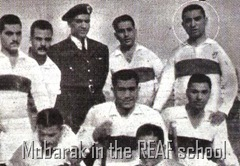 Mubarak in the REAF school
