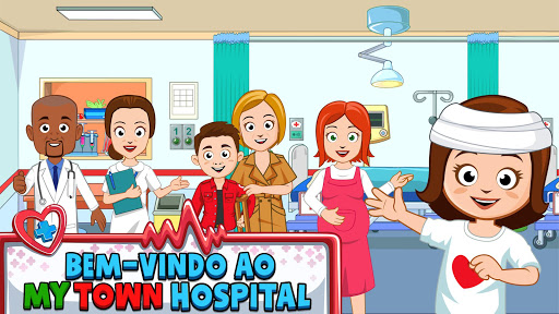My Town : Hospital screenshot 1