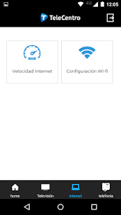 TeleCentro Sucursal Virtual - náhled