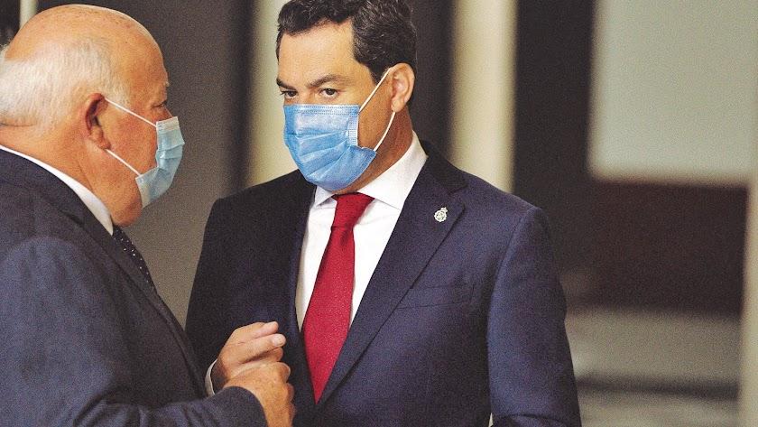 Consejero de Salud y presidente de la Junta antes del Comité de Expertos del día 14.