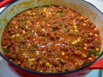 Lisa'a Dutch Oven Chili Recipe