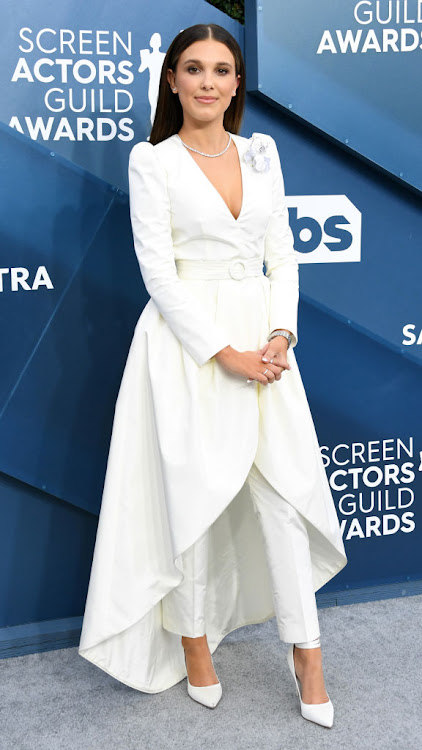 Millie Bobby Brown at the 2020 SAG Awards.