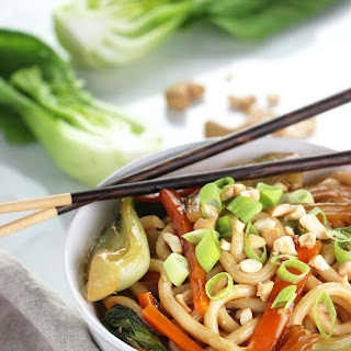 Bok Choy Udon Noodle Bowl