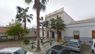Plaza del Ayuntamiento y Casa Consistorial de Los Gallardos.