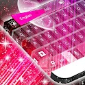 Rosa Cereza tema del teclado icon