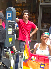 Photo: The Heritage of Pride gay pride march, West 8 Street between Fifth Avenue and MacDougal Street, Greenwich Village, 26 June 2011. (Photograph by Elyaqim Mosheh Adam.)