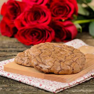 Chocolate Pecan Bourbon Cookies