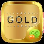 (FREE) GO SMS GOLD THEME 1.0.6 Apk