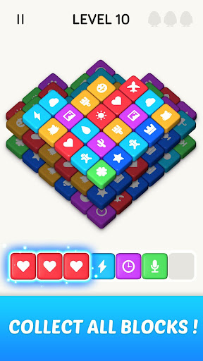 Block Blast 3D : Triple Tiles Matching Puzzle Game 3.40.009 screenshots 2