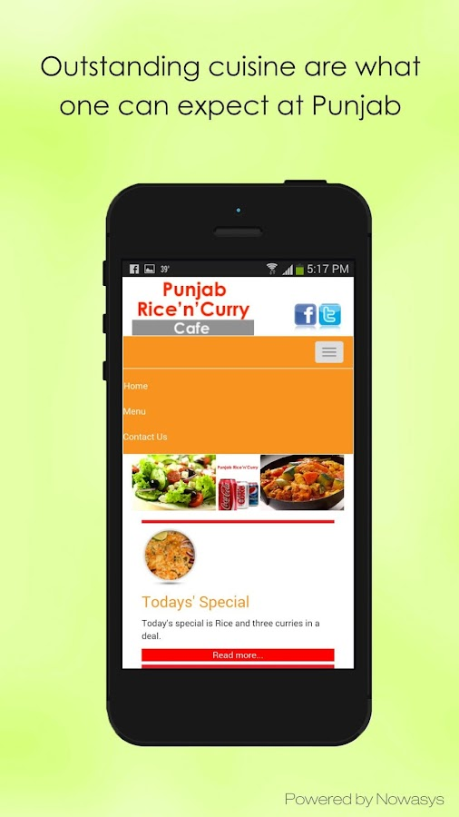 Punjab Rice n Curry- screenshot