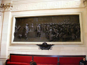 Photo: The Casimir-Perrier Room is renowned for its bas relief sculpture depicting the June 23, 1789 meeting of the original National Assembly.