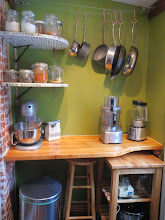 Photo: kitchen prep area - solid butcher block