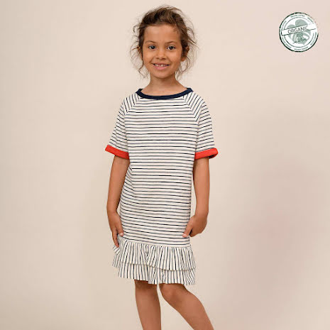 Elna Short sleeved Dress