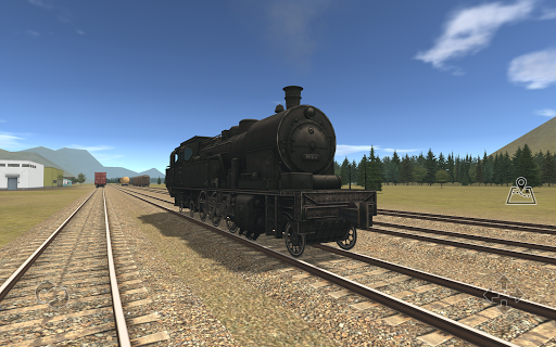 Train and rail yard simulator  captures d'écran 2