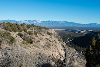 Photo: Sangres from Canyon Rim Trail