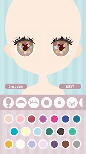Cute Eyes Maker - Makeup game to make cute eyes  screenshots 1