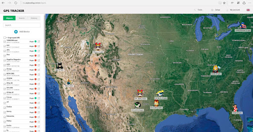 SECRETO GPS Tracker Hidden