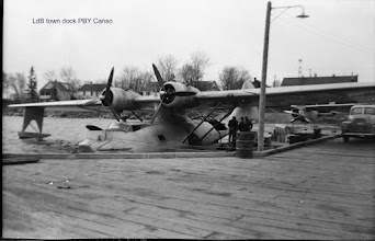 Photo: PBY Canso at Lac du Bonnet town dock