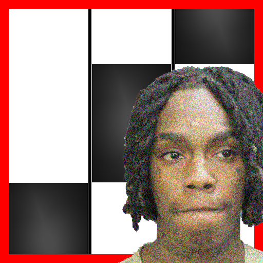 Icon for YNW Melly Murder On My Mind Piano Black Tiles
