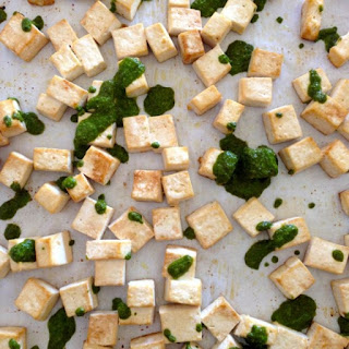 Pesto Roasted Tofu
