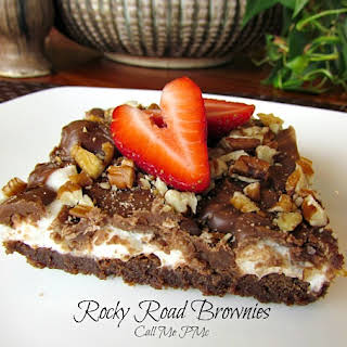Pmc's Famous Rocky Road Brownies.