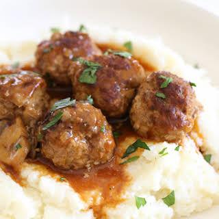 Salisbury Steak Meatballs (Instant Pot, Stove Top, Slow Cooker).