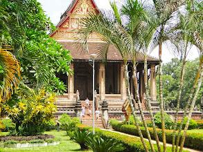 Photo: Old temple Vientiane