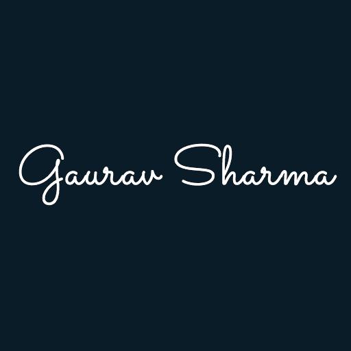 Sharma Gaurav avatar image