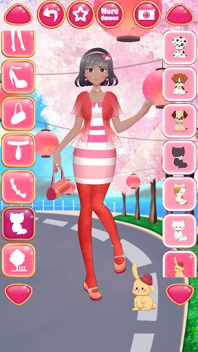 Anime Girls Fashion - Makeup & Dress up apktram screenshots 23