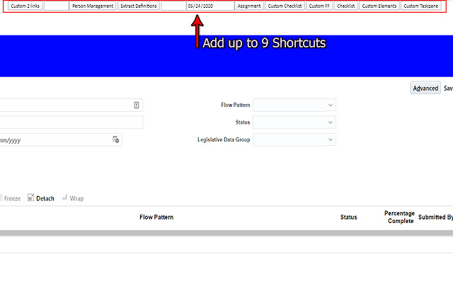 Oracle Cloud Shortcuts