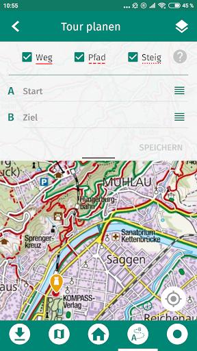 KOMPASS Wanderkarte 2.1 app download 2