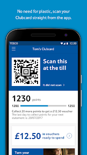 Tesco Clubcard: Spend Vouchers and Collect Points- screenshot thumbnail