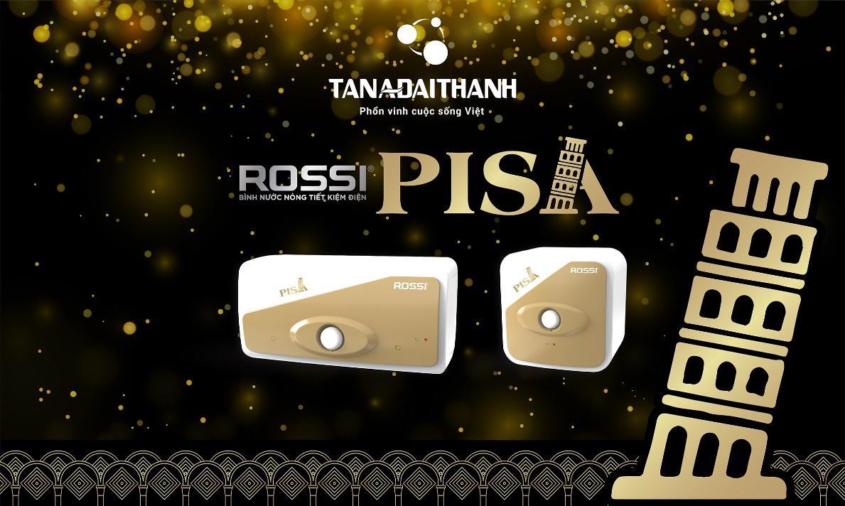 Ra mắt bình nước nóng phiên bản đặc biệt - Rossi Pisa - Ảnh 1