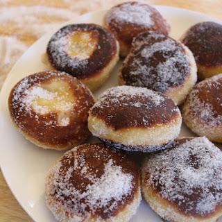 Salted Caramel Doughnuts