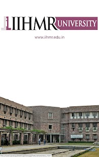 IIHMR UNIVERSITY- screenshot thumbnail