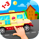 Car Puzzles for Toddlers Free icon
