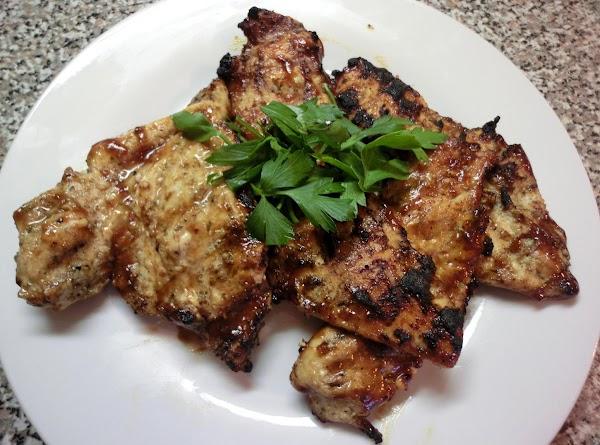 3 Ingredient Grilled Chicken Breast Recipe