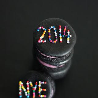 New Year's Eve Macarons