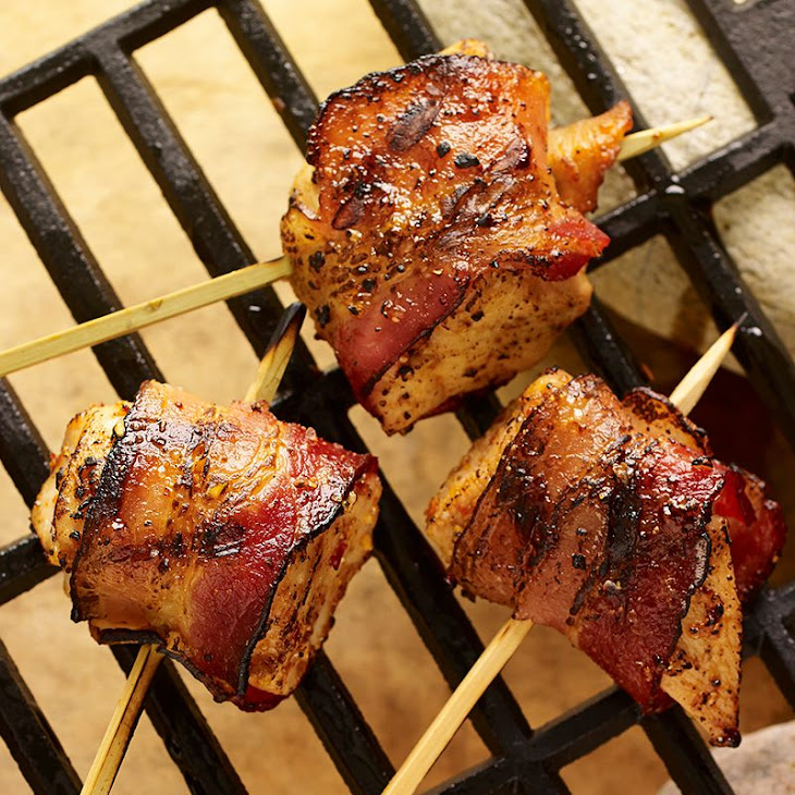 Grilled Maple Bacon Chicken Bites