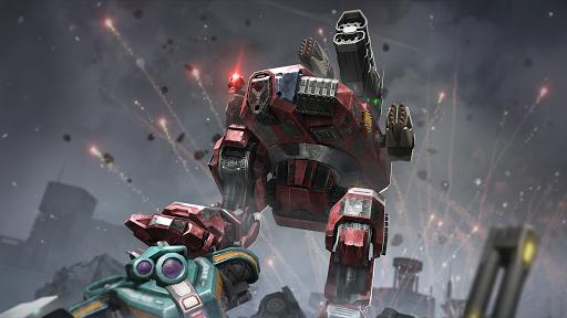 Robot Warfare: Mech Battle 3D PvP FPS apktram screenshots 7