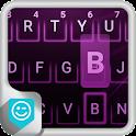 Purple Neon Emoji Keyboard icon