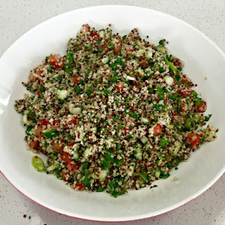 Quinoa Tabouli, Tabbouleh, Tabbouli - anyway you spell it - this is delicious!